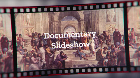 Documentary Slideshow After Effects Template