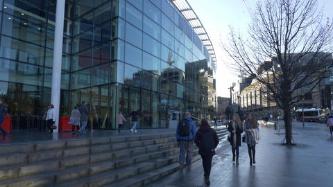 Omni Centre in Edinburgh - EDINBURGH, SCOTLAND - JANUARY 10, 2020 Live Action