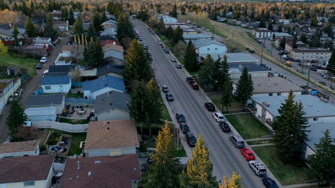 Calgary Hunter Road street time lapse Live Action