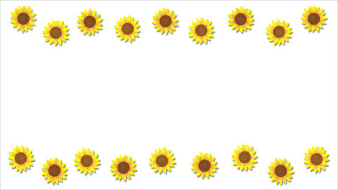 Sunflower animation Videos animados