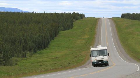 ALCAN Highway fast 1325 Footage