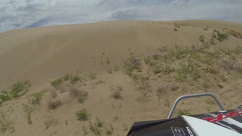 ATV RZR ride sand dunes POV trail ride recreation HD 349 Footage