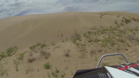ATV RZR ride sand dunes POV trail ride recreation HD 349 Footage