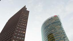 Skyscrapers in Potsdamer Platz Footage