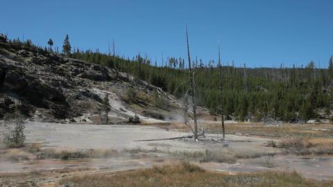 Artists Paintpots Yellowstone P HD 2628 Footage