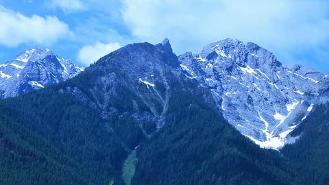 Banff park mountains P HD 7373 Live Action
