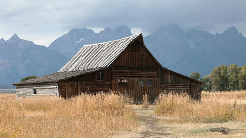 Barn Grand Tetons P HD 3053 Footage