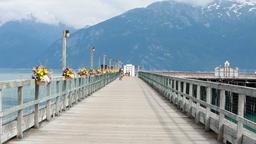 Bike on dock pier Alaska P HD 0060 Live Action