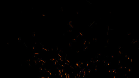 Fire Sparks Animation