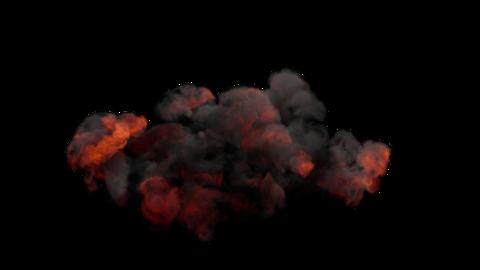 Explosion Sky 01 Animation