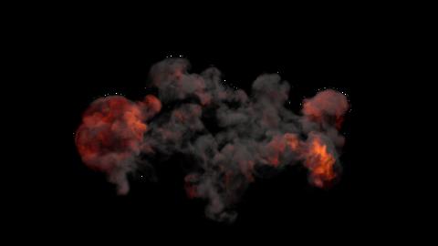 Explosion Sky 03 Animation