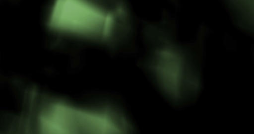 abstract green light pulses and glows leaks Live Action