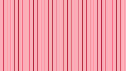 縦のストライプ 薄い赤 極細 ループ CG動画