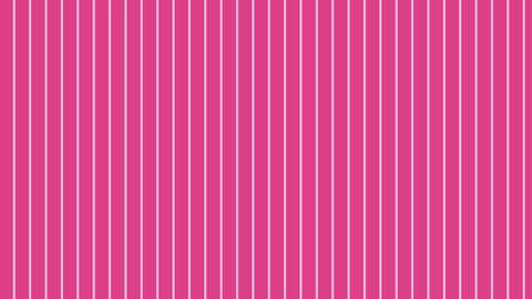 縦のストライプ 濃いピンク 極細 ループ CG動画