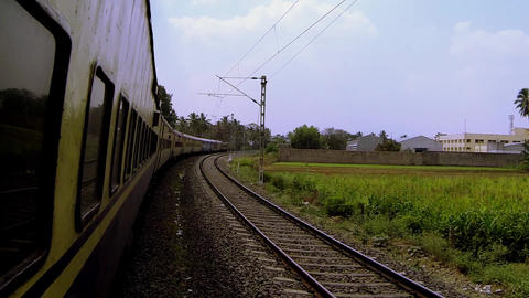 Indian Train Footage