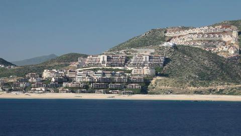 Cabo San Lucas resorts 2 P HD 5107 Footage