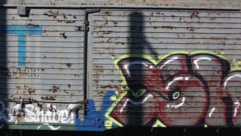 Waggons and graffiti original 4K Live Action