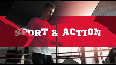 Sport Action Opener Plantilla de Apple Motion