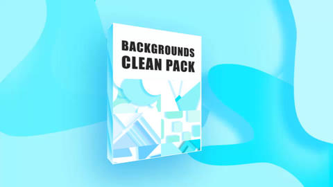 4K Backgrounds Clean Pack After Effects Template