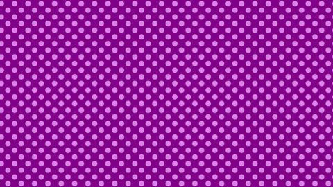 紫 水玉背景 ループ CG動画