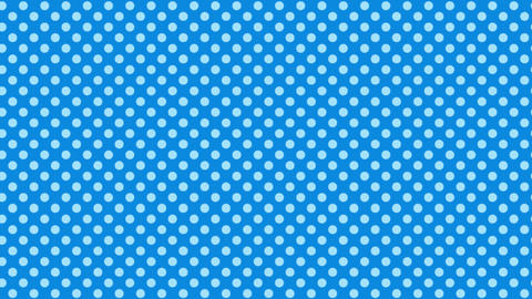 Polka dot background-blueA Animation
