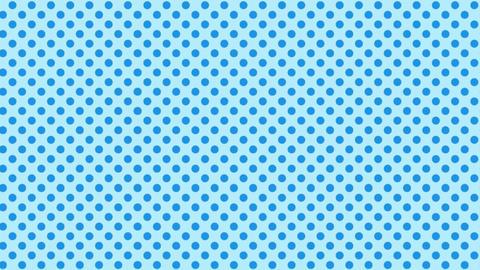 Polka dot background-blueB Videos animados