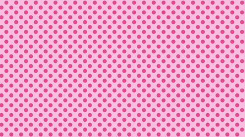 Polka dot background-pinkB Videos animados