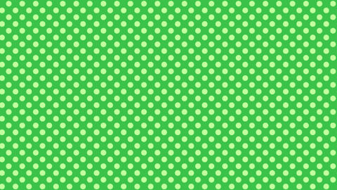 緑 水玉背景 ループ CG動画