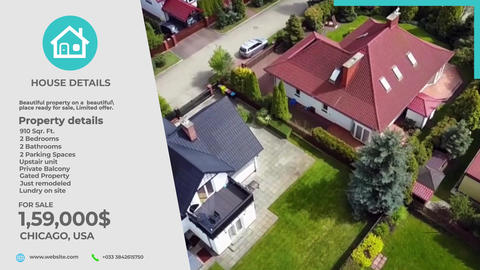 Clean Real Estate Plantillas de Motion Graphics