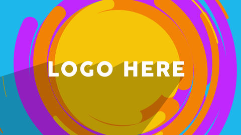Flat Logo Animation After Effects Template