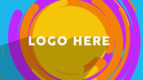 Flat Logo Animation AE 模板