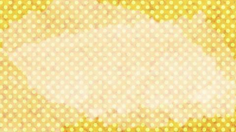 Polka dot background-yellowC Videos animados