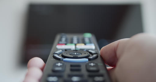Controlling smart tv with a remote control Live Action