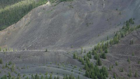 Hebgen Lake Yellowstone earthquake 1959 landslide damage 4K Footage
