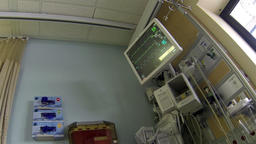 Hospital equipment operation recovery room HD 036 Footage