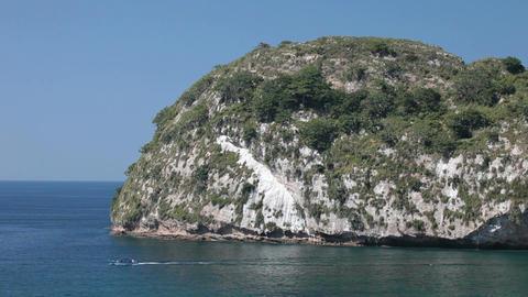 Island Puerto Vallarta boat HD 4603 Footage