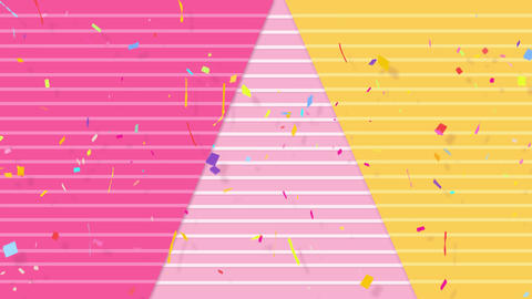 Celebration Background with Loop Animation Animation
