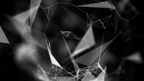 点と線の背景01 CG動画