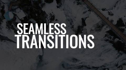 Seamless Transitions Premiere Proテンプレート