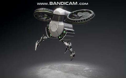 Drone past finder Modelo 3D