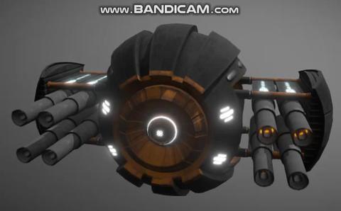 Scifi ball drone 3D Model