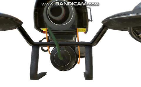 Cyberpunk drone concept Modelo 3D