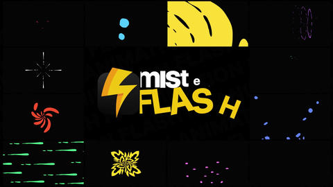 Flash FX Elements Pack 08 Apple Motion Template
