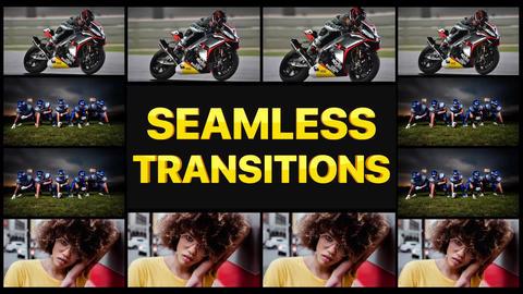 Seamless Transitions Pack Apple Motionテンプレート