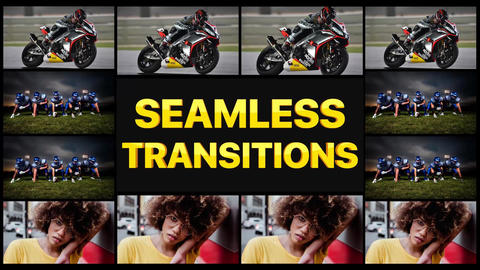 Seamless Transitions Pack After Effects Template