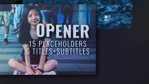 Dynamic Opener Reel Premiere Pro Template