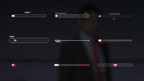 Progress Bar Pack Motion Graphics Template
