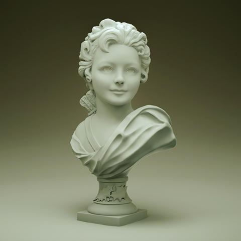 Bust of Cupid Modelo 3D