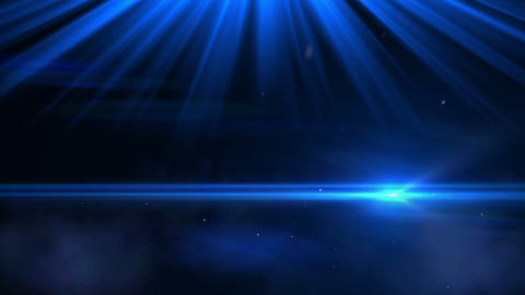 Glowing blue background Animation