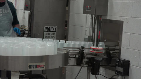 Manufacture fresh food canning factory 4K 013 Footage